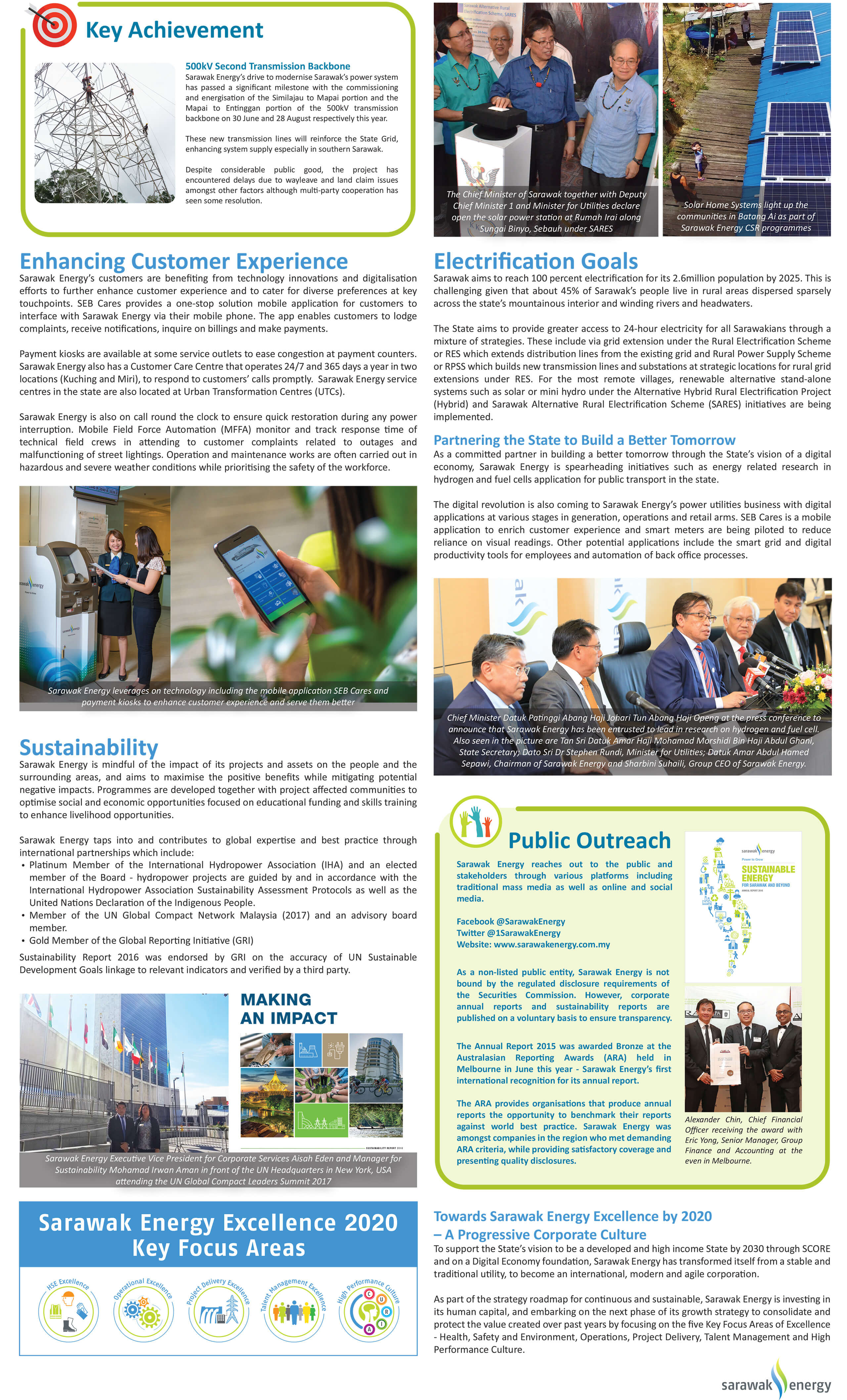 Announcements - Sustainable Energy Development and a