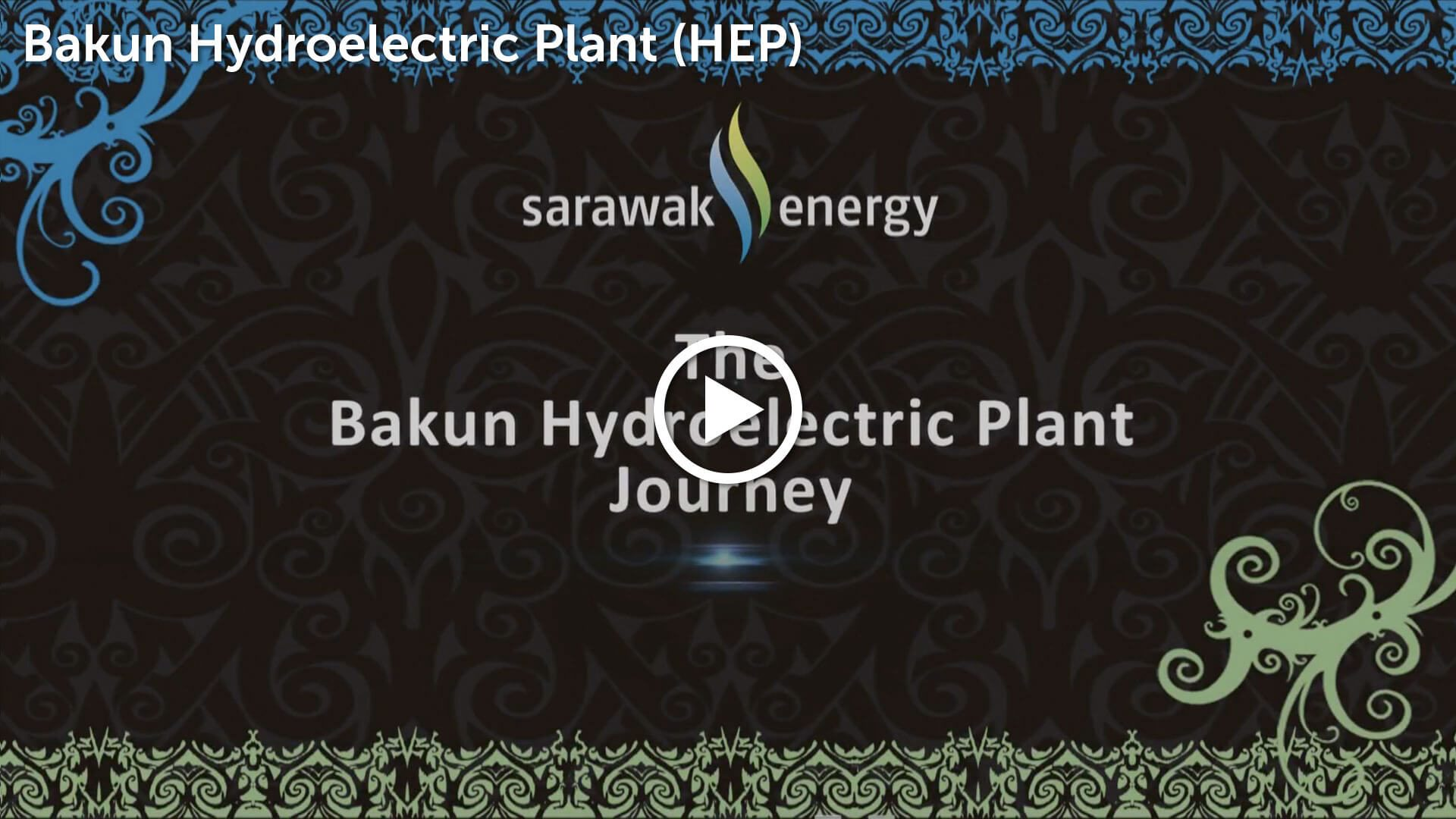 Bakun Hydroelectric Plant Video Thumbnail