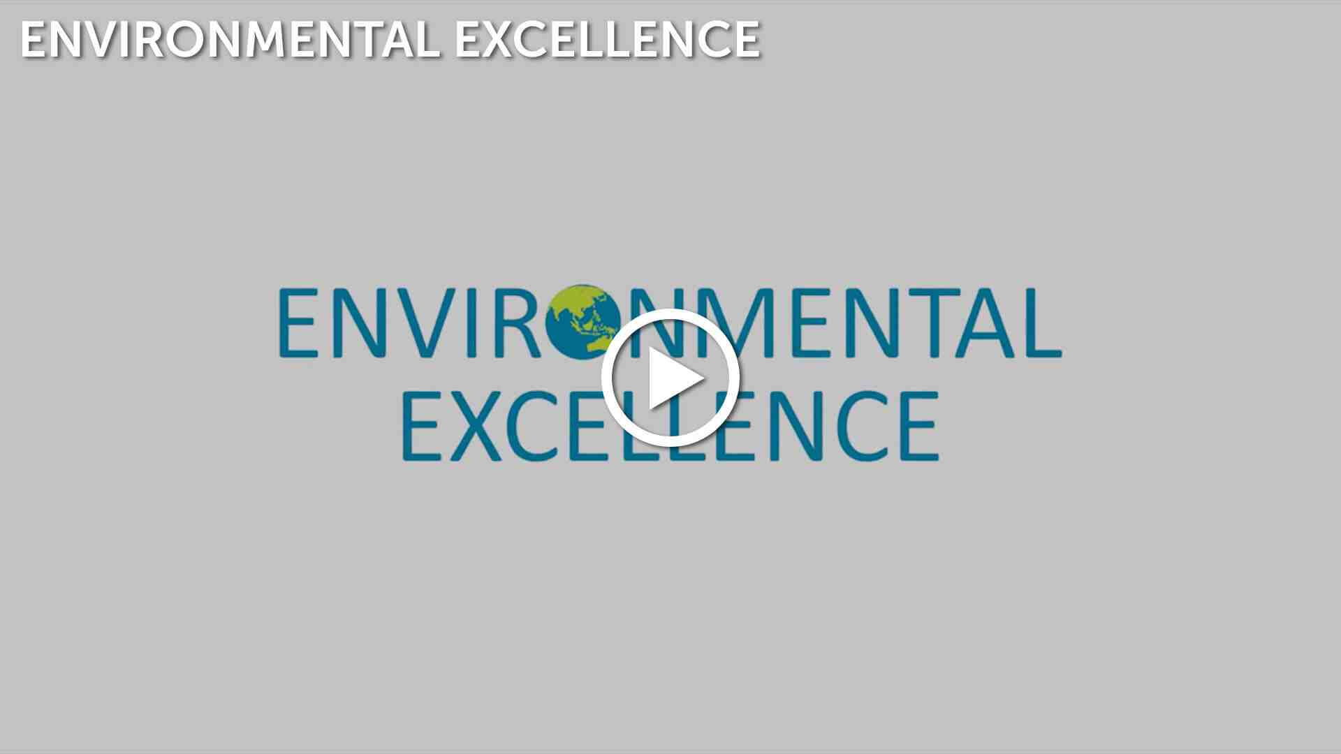 Environmental Excellence Video Thumbnail